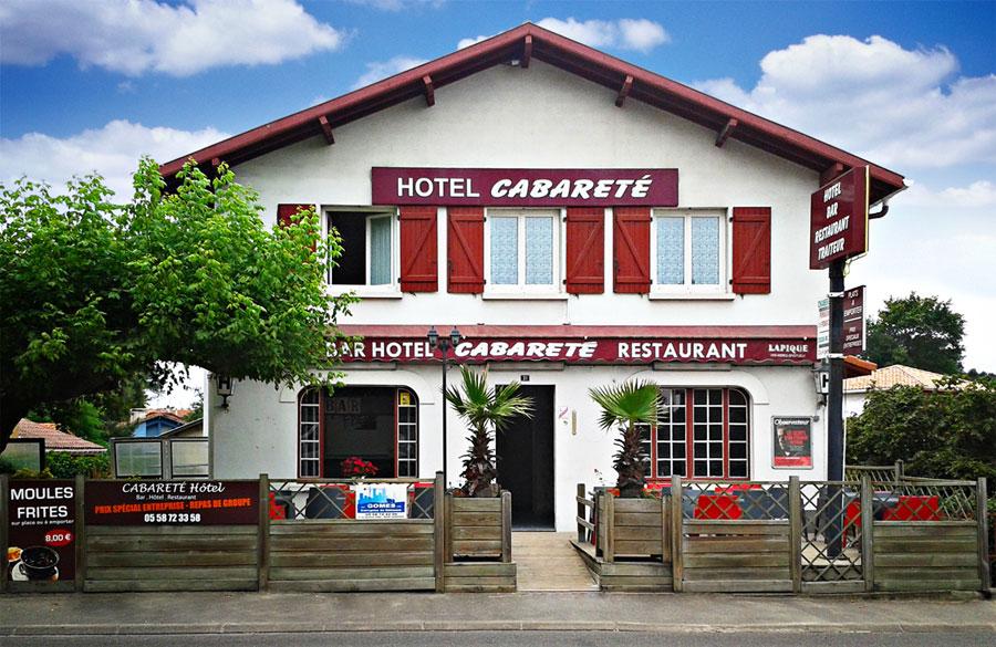 Hôtel Restaurant Cabareté à Capbreton